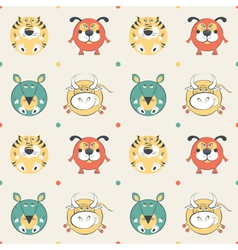 Pets pattern vector