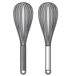 Balloon whisk vector