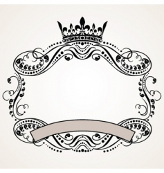 Ornament border vector