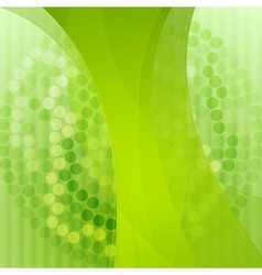Elegant green technology background vector