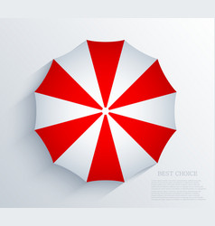 Creative umbrella background eps10 vector