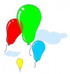 Balloons vector