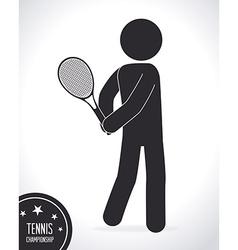 Tennis design vector