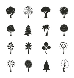 Abstract ecology growth icons set vector