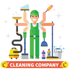 Cleaning worker vector