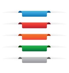 Paper tag labels vector