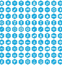 100 war icons vector
