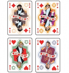 Playing cards vector