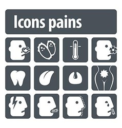 Icons pains vector