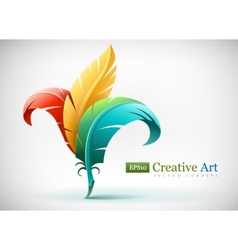Creative art concept with vector