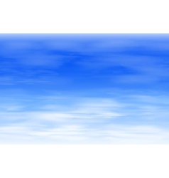 Blue sky background vector