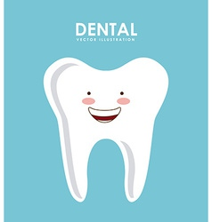 Dental design vector