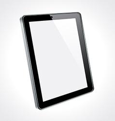 Touchscreen tablet concept vector