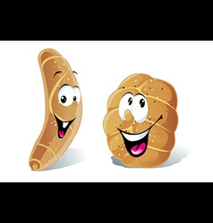 Pastry roll vector
