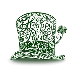 Leprechaun hat vector