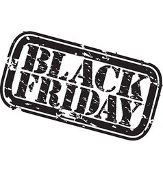 Black friday stamp vector
