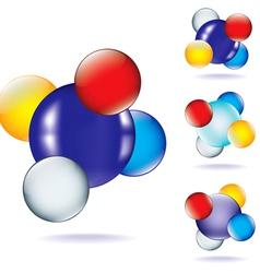 Atom four vector