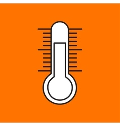 Thermometer icon eps10 vector