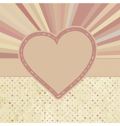 Valentine pattern with hearts eps 8 vector