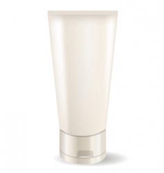 Cream tube vector