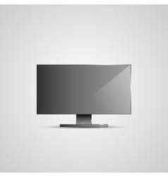 Tv flat screen icd vector