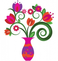 Floral graphic design vector