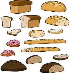 Set bread vector