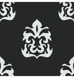 Seamless pattern in victorian style vector
