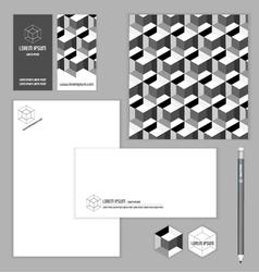 Identity branding set for business vector
