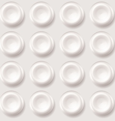 Abstract plastic regular pattern background vector
