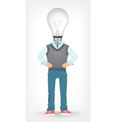 Idea guy vector