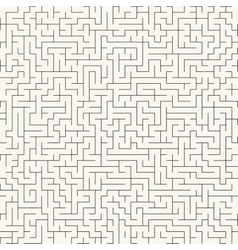 Maze seamless background vector