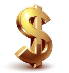 Dollar sign vector