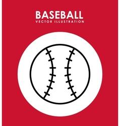 Baseball game vector