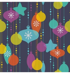 Christmas decoration pattern vector