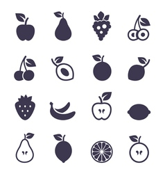 Icon fruit2 vector
