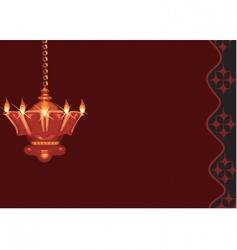 Divine lamp vector