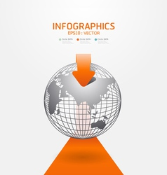 Infographics set and information vector