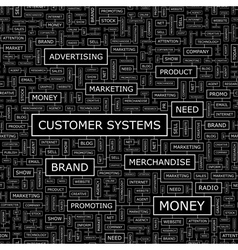Customer systems vector