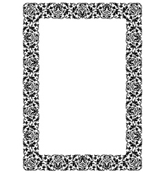 Black frame vector