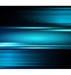 Abstract blue light shiny background vector