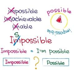 Success quotes vector