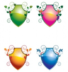 Crest seasons vector
