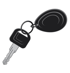 Keys from the car vector