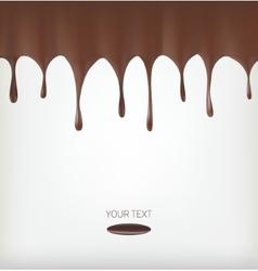 Chocolate streams vector