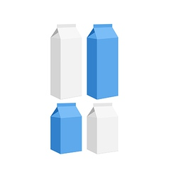 Carton of milk vector