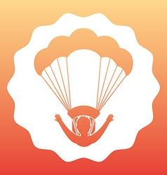 Parachute flight vector