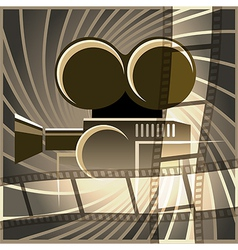 Movie art vector