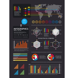 Iinfographics set and information vector