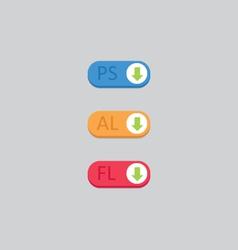 App download icons vector